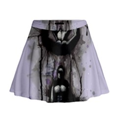 Suspension Mini Flare Skirt