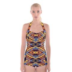 Art Digital (5)jjY Boyleg Halter Swimsuit