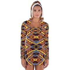 Art Digital (5)jjY Women s Long Sleeve Hooded T-shirt