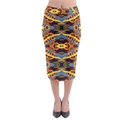 Art Digital (5)jjy Midi Pencil Skirt