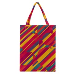 Colorful hot pattern Classic Tote Bag