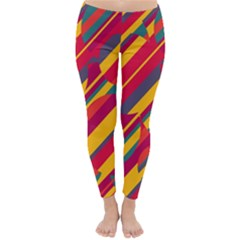 Colorful hot pattern Winter Leggings