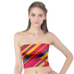 Colorful hot pattern Tube Top