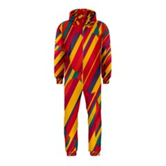 Colorful hot pattern Hooded Jumpsuit (Kids)