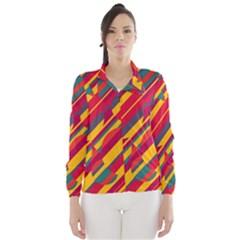 Colorful hot pattern Wind Breaker (Women)