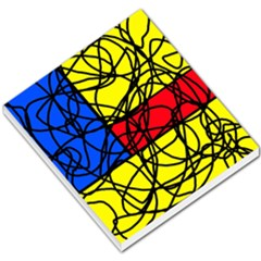 Yellow abstract pattern Small Memo Pads