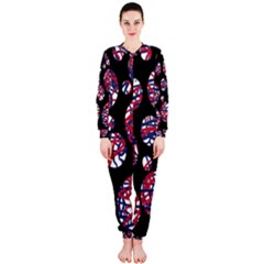 Colorful decorative pattern OnePiece Jumpsuit (Ladies)