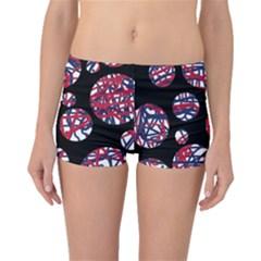 Colorful decorative pattern Boyleg Bikini Bottoms