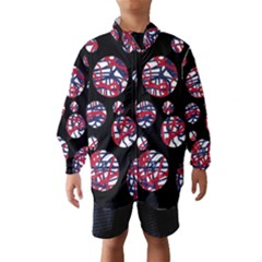 Colorful decorative pattern Wind Breaker (Kids)