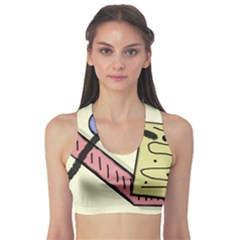 Decorative abstraction Sports Bra
