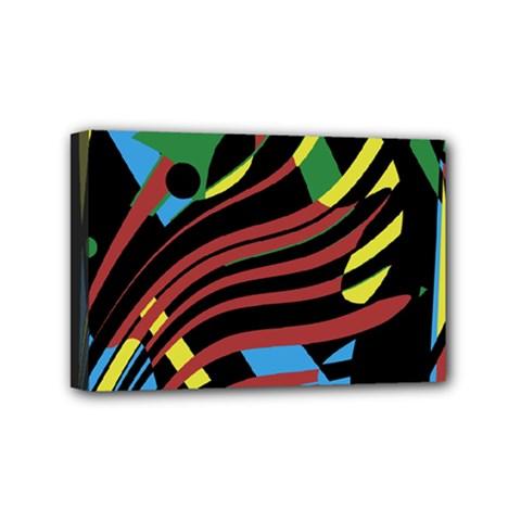 Colorful decorative abstrat design Mini Canvas 6  x 4