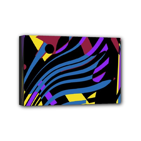 Decorative abstract design Mini Canvas 6  x 4