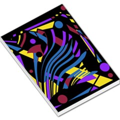 Decorative abstract design Large Memo Pads