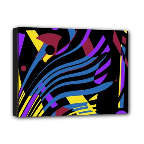 Decorative abstract design Deluxe Canvas 16  x 12