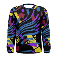 Decorative abstract design Men s Long Sleeve Tee