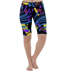 Decorative abstract design Cropped Leggings