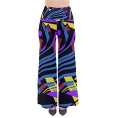 Decorative Abstract Design Pants