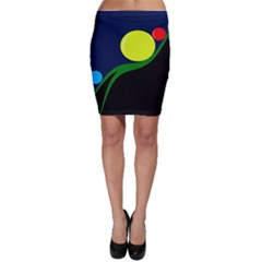 Falling boalls Bodycon Skirt