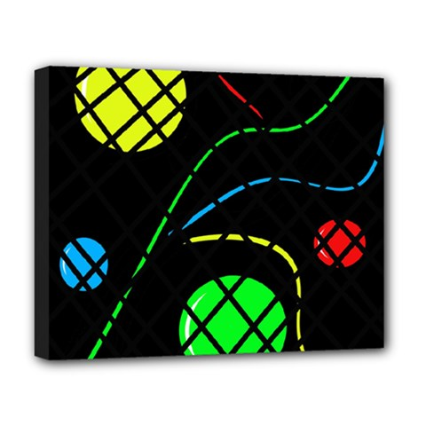 Colorful design Deluxe Canvas 20  x 16