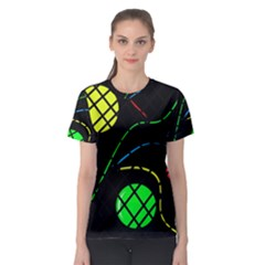 Colorful design Women s Sport Mesh Tee