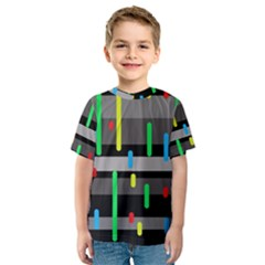 Colorful pattern Kid s Sport Mesh Tee