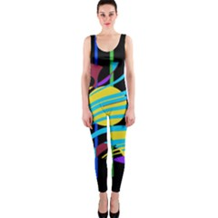 Colorful abstract art OnePiece Catsuit