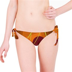 Orange abstraction Bikini Bottom