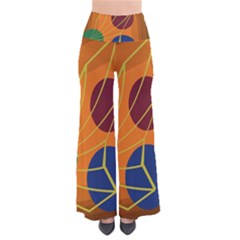 Orange abstraction Pants
