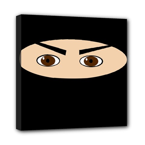Ninja Mini Canvas 8  x 8
