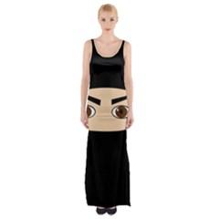 Ninja Maxi Thigh Split Dress
