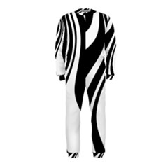 Black and white pattern OnePiece Jumpsuit (Kids)