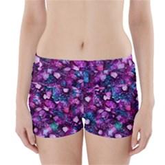 Underwater Garden Boyleg Bikini Wrap Bottoms