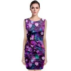 Underwater Garden Classic Sleeveless Midi Dress