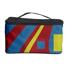 Colorful abstrac art Cosmetic Storage Case