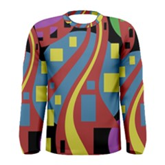 Colorful abstrac art Men s Long Sleeve Tee