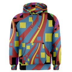 Colorful abstrac art Men s Pullover Hoodie