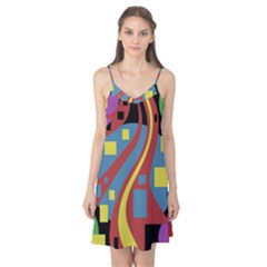 Colorful abstrac art Camis Nightgown