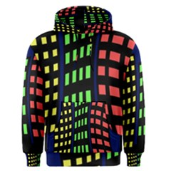 Colorful abstract city landscape Men s Pullover Hoodie