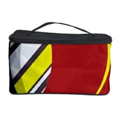 Red and yellow design Cosmetic Storage Case