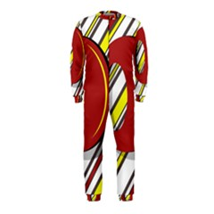Red and yellow design OnePiece Jumpsuit (Kids)