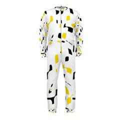 Yellow, black and white pattern OnePiece Jumpsuit (Kids)