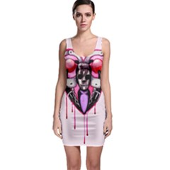 Bdsm Love Sleeveless Bodycon Dress