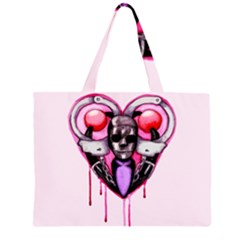 BDSM Love Zipper Large Tote Bag