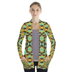 Yyyyy Women s Open Front Pockets Cardigan(P194)