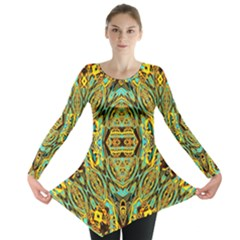 Space Logic Long Sleeve Tunic