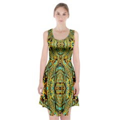 Space Logic Racerback Midi Dress