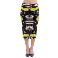 This Or That Midi Pencil Skirt