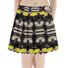 THIS OR THAT Pleated Mini Mesh Skirt