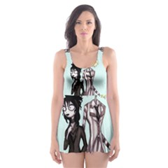 SkellingJuice Skater Dress Swimsuit