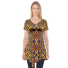 SKY WORLD Short Sleeve Tunic